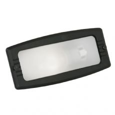 Oaks Lighting - Black Die Cast Aluminium Wall Recessed Brick Light - 072 BK